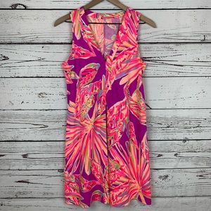 Lilly Pulitzer Amina V-Neck Swing Dress